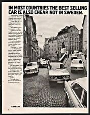 1972 VOLVO AD In most countries the best selling car is also cheap Not in Sweden