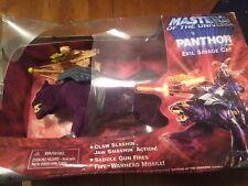 """2001 Mattel He-Man Skeletor PANTHOR Purple Panther 7"""" READ DESCRIPTION"""