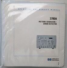 HP 3780A Operating & Service Manual w/Schematics P/N 03780-90023 Rev Mar 1981