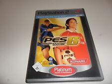 PlayStation 2 PS 2 pro evolution soccer 6 (Platinum)