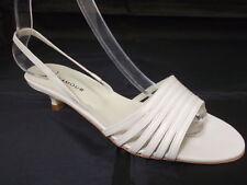 Women's 100% Leather Slingbacks Kitten Sandals & Beach Shoes