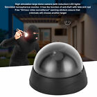 Dummy Dome Camera Home Surveillance Security Fake CCTV W/ Red Flashing LED Light