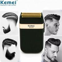 Men Electric Shaver Trimmer Rechargeable Portable Shaver Razor US Kemei KM-2024
