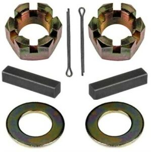 Rear Axle Nut & Key Set for 1928-1964 Ply - Dodge - DeSoto - Chrys