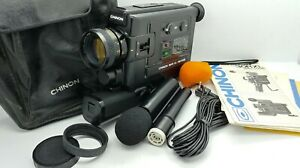 "Vintage CHINON 30R XL Direct Sound SUPER 8 movie Camera ""EXCELLENT"""