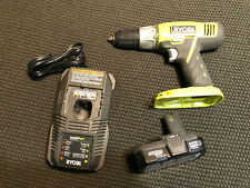 RYOBI P271 18V 1/2 INCH CORDLESS DRILL  with CHARGER and BATTERY