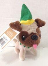 Hallmark holiday Elf Plush Pug Dog Mini new tags collectible christmas