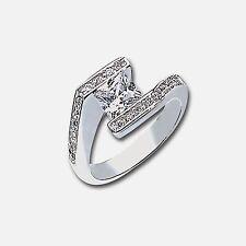"""Park Lane """"DASHING"""" RING - CZ & Swarovski  - Orig. $103 - Size 7 - Engagement!"""