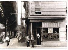 1933 Brownsville Pool Billiard Modern Post Card Brooklyn New York LIVONIA NEGRO