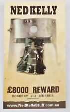 79016 NED KELLY STUFF COLLECTABLE PIN BADGE 16 of 20 NED IN FRONT OF BIG HELMET