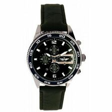 Men's Round Not Water Resistant Watches with Chronograph