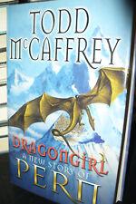 Dragongirl by Todd McCaffrey (1st UK Hardback, 2010) SIGNED