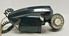 Vintage Wall Mount Black Rotary Telephone