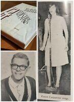 Richard ( Senior ) & Karen Carpenter High School Yearbook 1964 The Carpenters