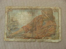banconota francia france  20 franchi  CIRCOLATA