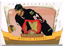 06-07 Hot Prospects HOT MATERIALS 01/10 Made! Martin HAVLAT - Blackhawks
