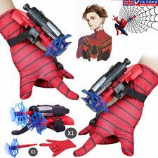 Spider-Man Glove Web Shooter Dart Blaster Launcher Toy Spiderman Kids Costume Us