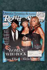 Rolling Stone Magazine - Missy Elliott, Alicia Keys, Eve #934 October, 2003 (A)