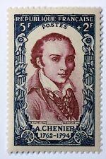 FRANCE CÉLÉBRITÉS TIMBRE NEUF N° 867 **  MNH ANDRE MARIE DE CHENIER    B4