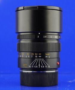 LEICA Summicron M 2/90 6-bit codiert #3211069 90mm TOMS-CAMERA-LADEN Ankauf/Verk