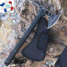 Hache Tomahawk Tactique Armée Survie Randonnée Bivouac Camping Chasse Piolet