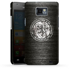 Samsung Galaxy S2 Premium Case Cover - Metall scratched