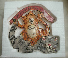 You Bring Out the Kitten in Me Ceramic Cat  Heather Goldminc Valentines Day NIB