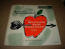 """ANDY WARHOL / TOSCANINI william tell ( classical ) 2 x 7""""/45 EP rca 7054"""