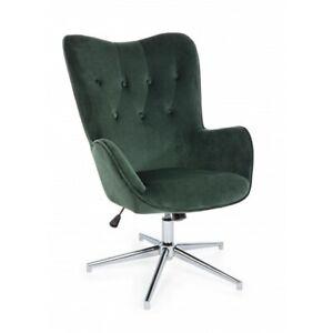 Armchair Farida Velvet Green Or Grey