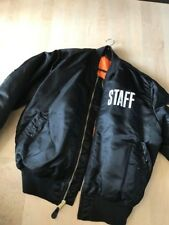 Justin Bieber exclusive staff tour bomber jacket xxl