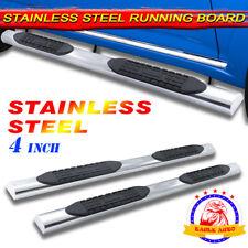 "Fit 06-15 Honda Ridgeline 4"" Running Board Side Step Nerf Bar Stainless Steel A"