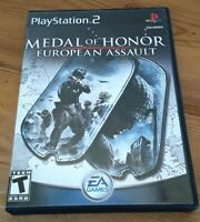 Medal Of Honor European Assault PS2 Includes: Includes: Case, Disc, No Manual