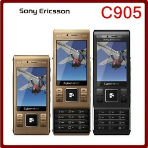 Original Unlocked Sony Ericsson C905 Phone 8MP WIFI Bluetooth 3G Mobile Phone