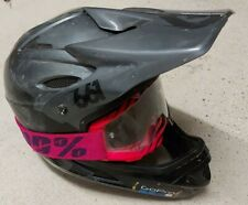 661 Comp Full Face Helmet - Black-Charcoal 2016 Size L