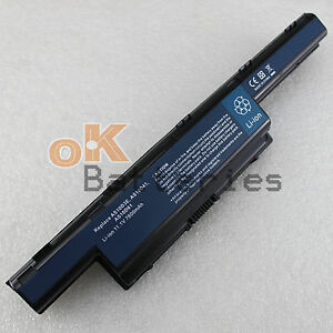 7800mAh AS10D61 Battery For Acer Aspire 5253 7551 5336 Series BT.00604.049 9Cell