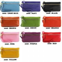Summer Colours Ladies Soft Leather 2008 Wristlet Purse Long Wallet Phone Holder