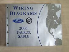 2005 Ford Taurus Mercury Sable Wiring Diagram OEM Factory Manual