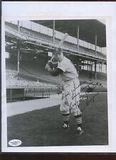 Ken Boyer St. Louis Cardinals Autographed 8 X 10 Photo JSA LOA
