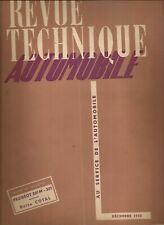 REVUE TECHNIQUE AUTOMOBILE 56 RTA 1950 PEUGEOT 201 M 301 BOITE DE VITESSE COTAL