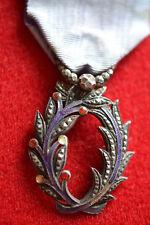 U* Belle médaille DES PALMES Académiques anciennes école guerre french MEDAL