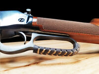 Leather Lever Wrap Cover for Lever-Action Rifles & Shotguns - 2 Qty - Made USA