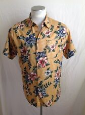 Tommy Hilfiger Hawaiian Floral Camp Shirt 100% Cotton Size Large L