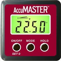 Calculated Industries 7434 AccuMASTER 2-in-1 Digital Angle Gauge