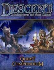 FFG Descent 1st Ed Descent - Quest Compendium VG