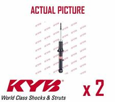 2 x NEW KYB FRONT AXLE SHOCK ABSORBERS PAIR STRUTS SHOCKERS OE QUALITY 341266