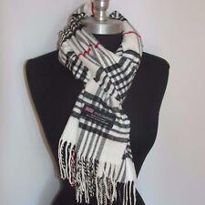 Écharpes et châles blancs pour femme en 100% laine   Idées cadeaux ... dc5377f6ce9