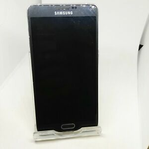 SAMSUNG GALAXY NOTE 4 SM-910F Black (Untested) SmartPhone For Parts Repair