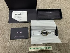 Prada Keyring Black Used