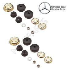 For Mercedes R107 W123 W126 Set of 2 Engine Mount Shock Damper Bushing Kits OEM