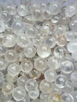 14-18pc Quartz Stone Sphere~ For Crystal Healing , Reiki ,Chakra grid ball.00